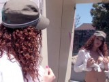 Vidéo porno mobile : Rough fucking and DP for this Redhead with big natural breasts